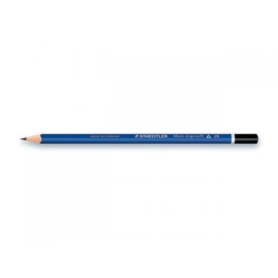 Staedtler mars potlood: Potlood ergosoft 2B/pk 12