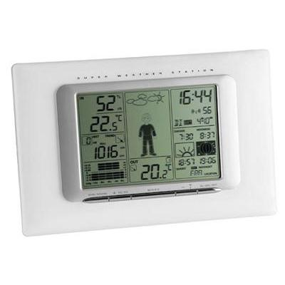 "Tfa weerstation: 35.1066 - ""meteo max"" wireless weather station - Wit"