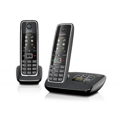 Gigaset dect telefoon: C530A Duo - Zwart