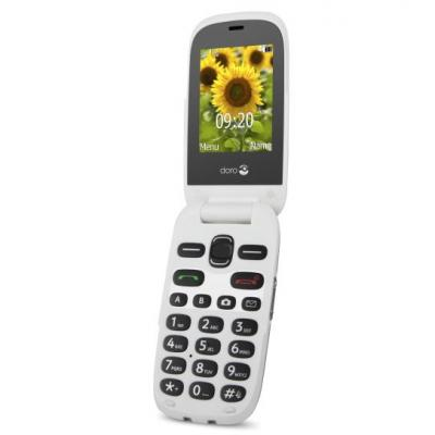 Doro mobiele telefoon: 6030 - Champagne, Wit