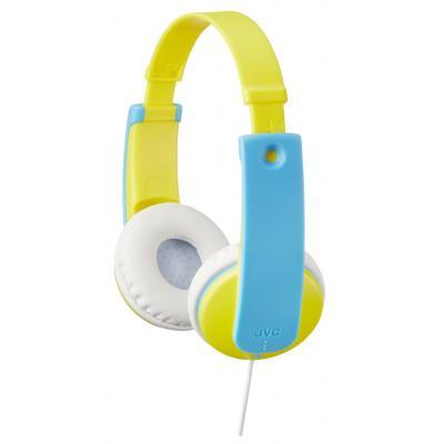 Jvc koptelefoon: Hoofdtelefoon voor kinderen - Blauw, Geel