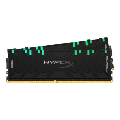 HyperX 16GB (2 x 8GB), DDR4, 3200 MHz, CL16, 288-pin, DIMM RAM-geheugen