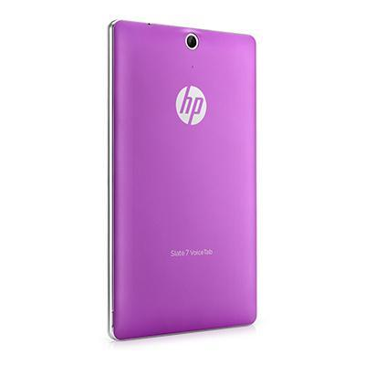 Hp tablet case: Slate 7 VoiceTab Purple Back Cover - Paars