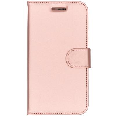 Wallet Softcase Booktype Motorola Moto C Plus - Rosé Goud / Rosé Gold Mobile phone case