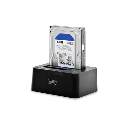 "Digitus 2.5""/3.5"" SATA HDD, 5 Gbps, USB 3.0 HDD/SSD docking station - Zwart"