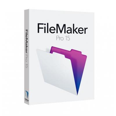 Filemaker software: Pro 15