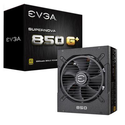 EVGA SuperNOVA 850 G1+ Power supply unit - Zwart