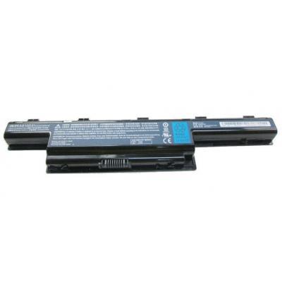 Acer batterij: Li-Ion 6-Cell 4400mAh - Zwart