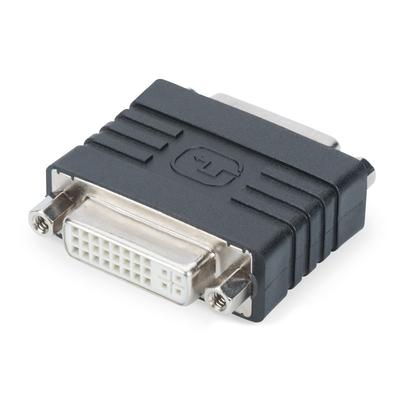 Digitus DVI-I - DVI-I Kabel adapter - Zwart