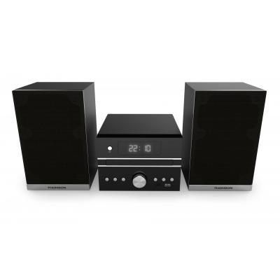 Thomson home stereo set: mini stereo installatie - Zwart