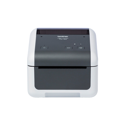 Brother 203 x 203 dpi, 203 mm/sec, RS-232C, USB 2.0, 108 x 155 x 224 mm, 2.08 kg Labelprinter - Grijs,Wit