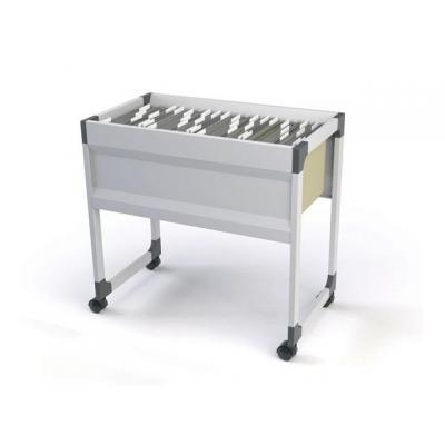 Durable kantoormeubel: Hangmappenwagen 90 A4 S l.grijs