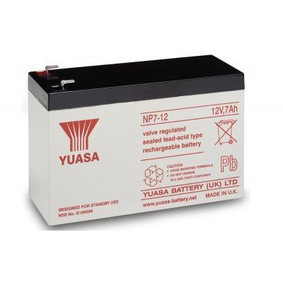 Bluewalker UPS batterij: 91010033, Yuasa,NP7-12