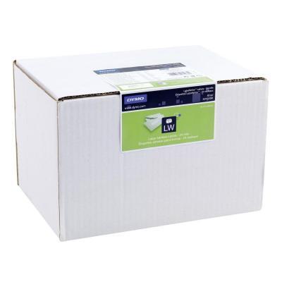 Dymo etiket: Large Address Labels - Zwart, Wit