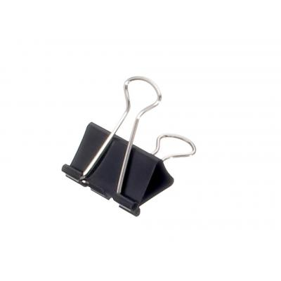 Maul paperclip: 13 mm, 4 mm - Zwart