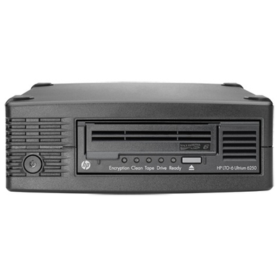 Hewlett Packard Enterprise StoreEver LTO-6 Ultrium 6250 Tape drive - Zwart