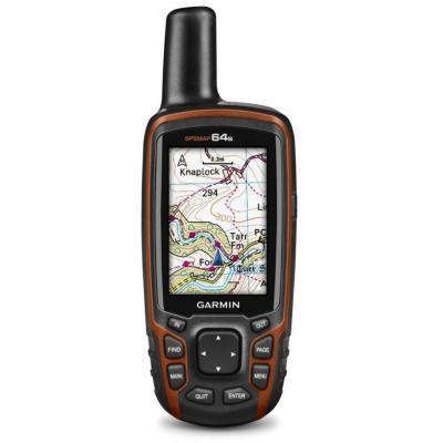 Garmin navigatie: GPSMAP 64s - Zwart, Rood