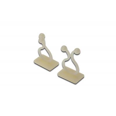 ASSMANN Electronic Cable Driller, Self-Adhesive, 100 pcs Kabelbinder - Transparant
