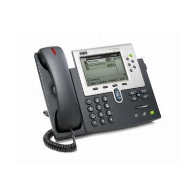 Cisco Unified IP Phone 7961G Dect telefoon - Zwart - Refurbished B-Grade