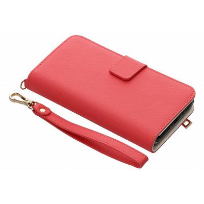 Wallet Booktype iPhone 8 Plus / 7 Plus - Fuchsia Mobile phone case