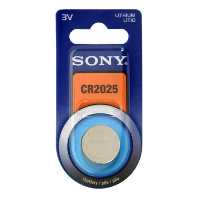 Sony batterij: CR2025B1A --lithiumcelbatterij - type CR2025 - blisterverpakking met 1 cel.