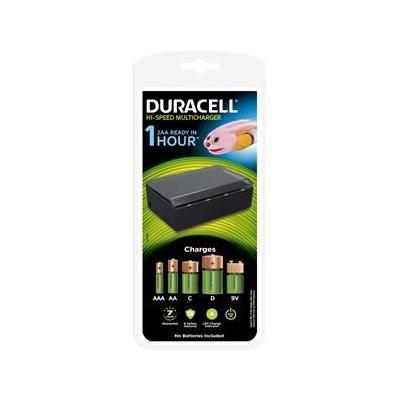 Duracell oplader: 1 hour Multi Charger - Zwart