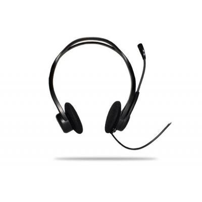 Logitech headset: PC 960 USB - Zwart