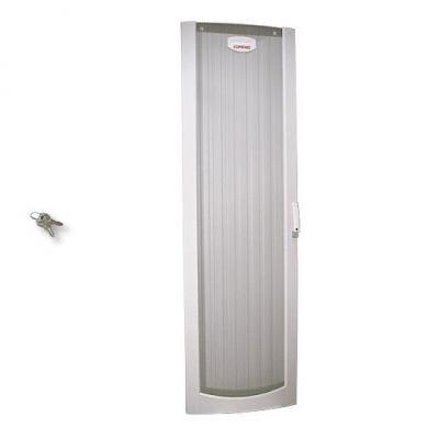 Hp rack toebehoren: Front door kit (Opal White) - For Rack 9142 - Includes door, handle, hinges, and two keys - Wit