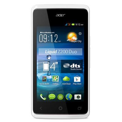 Acer smartphone: Liquid Z200 Duo - Wit 4GB