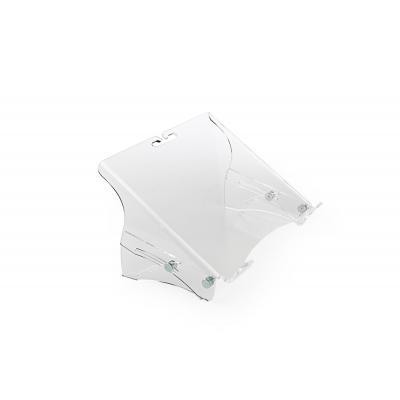 Bakkerelkhuizen notebooksteun: Q-note 350 - Transparant