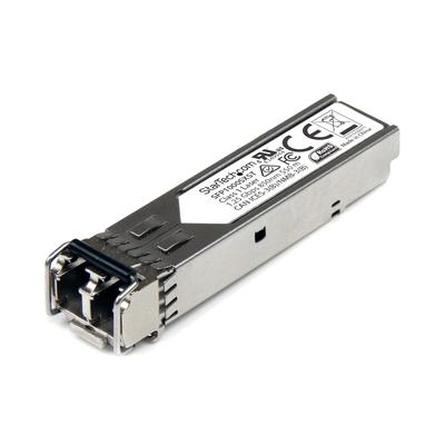 StarTech.com MSA conform Gigabit glasvezel SFP module Single mode SFP transceiver 1000BASE-SX MM LC 550 m .....