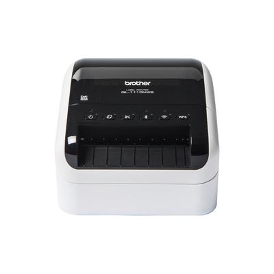 Brother Direct thermal, 300 x 300dpi, 12 - 103.6mm, 3m max, 7.8MB, USB 2.0, Wi-Fi, Bluetooth, 1.71kg .....
