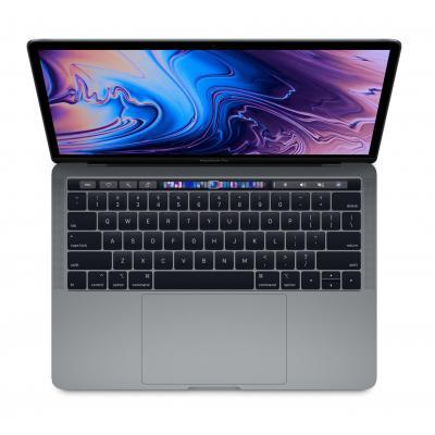 Apple laptop: MacBook Pro 13 (2018) - i5 - 512GB - Space Grey - Grijs