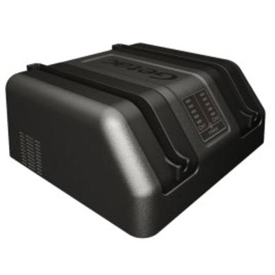 Getac External Dual Bay Main Battery Charger, EU Oplader - Grijs