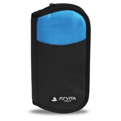 4gamers portable game console case: Travel Case - Zwart, Blauw