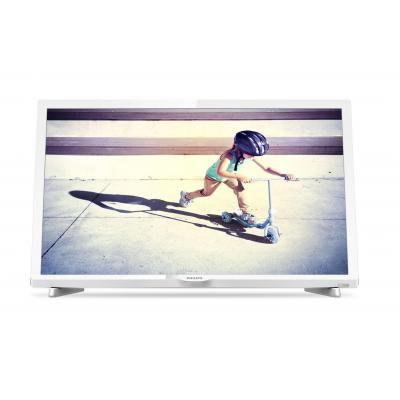 Philips led-tv: 4000 series Ultraslanke Full HD LED-TV 24PFS4032/12 - Wit
