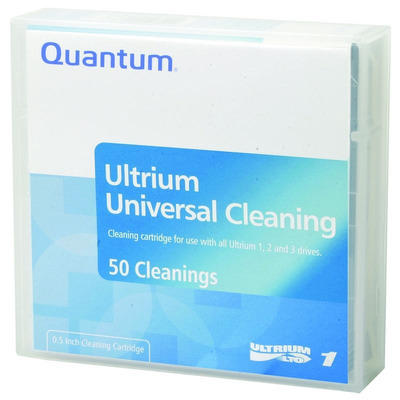 Quantum datatape: LTO Universal Cleaning - Zwart