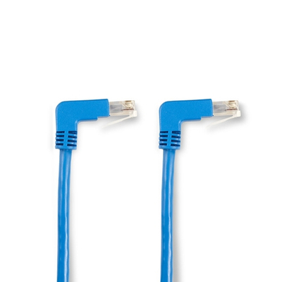 Black Box SpaceGAIN CAT5e 100-MHz Ethernet Patch Cable – Molded Angled Boots, Unshielded (UTP) Netwerkkabel .....