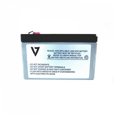 V7 RBC110 UPS UPS batterij - Metallic