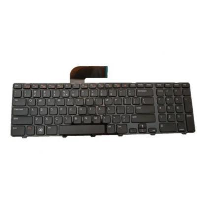 Dell notebook reserve-onderdeel: Keyboard (English), Black - Zwart