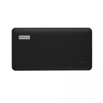 Pny powerbank: PowerPack LH8000 - Zwart, Zilver