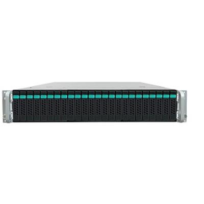 Intel server barebone: Server System R2224WTTYSR - Zwart, Metallic