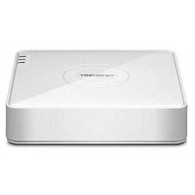 Trendnet : 4-Channel 1080p HD PoE NVR, HDMI and VGA display outputs, 4 x 10/100 Mbps PoE camera network ports