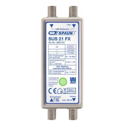 Spaun SUS 21 FX Kabel splitter of combiner - Metallic