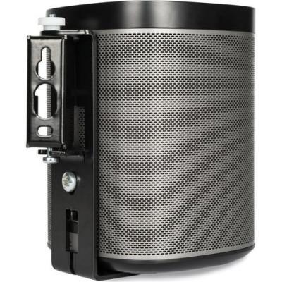 Flexson speakersteun: Wall Mount for SONOS PLAY:1, Black - Zwart