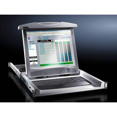 Rittal rack console: DK 9055.312 - Grijs