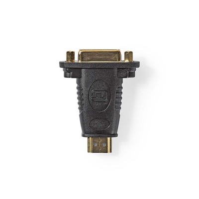 Nedis HDMI™- DVI-Adapter, HDMI™-Connector - DVI-D 24+1-Pins Female, Zwart Kabel adapter