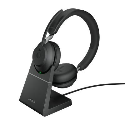 Jabra Evolve2 65 UC Stereo USB-A Headset - Zwart