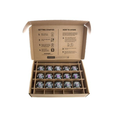 Sphero BOLT 15 Pack - Zwart, Blauw, Zilver, Transparant