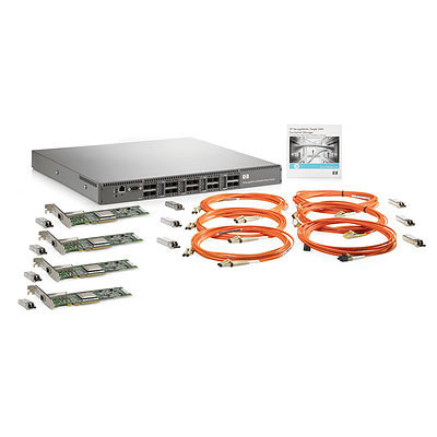 Hewlett Packard Enterprise 8Gb Simple SAN Connection Kit Switch